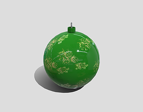 Christmas Ball 3D model low-poly