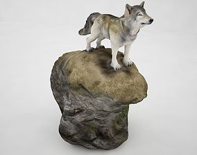 3D model Timber wolf