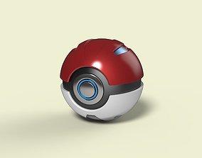 Pokeball 2 3D model