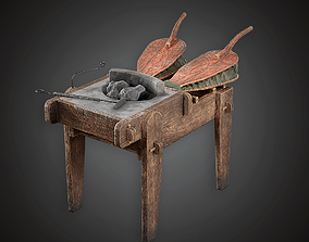 MVL - Blacksmith Portable Forge - PBR Game Ready 3D model