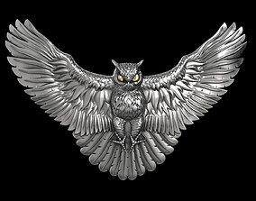 Owl attacks 3D printable model