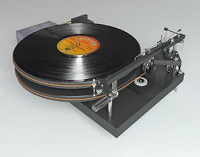 3D Vinyl player 47 Laboratory 4724 Koma