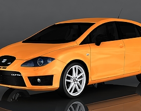 SEAT Leon Cupra 3D model