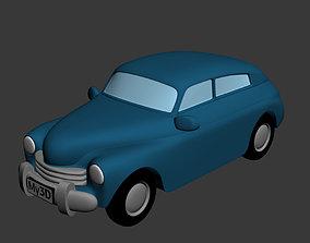 1958 GAZ-M20 For 3d Printing