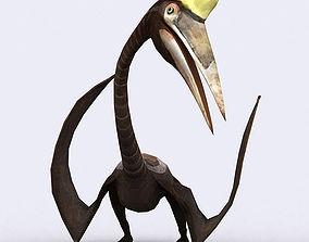 3DRT - Dinosaurs - Quetzalcoatlus animated