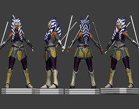 3D printable model Ashoka Thano Star Wars