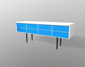 3D model Long Drawer