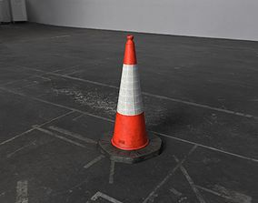 3D model London Street Traffic Cone