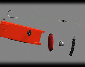 Fishing tackle 3D model