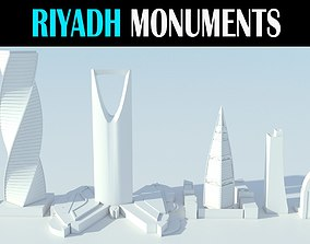 Riyadh Buildings 3D model