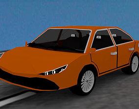 3D asset Aa-04 Sedan Car Coming Soon 2021