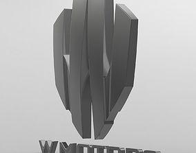 sumbol 3D model w motors logo