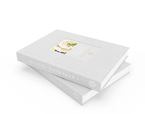 3D model Healthy Cookbooks