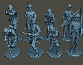 3D model German soldiers ww2 G1 Pack1