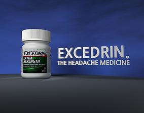 medicine Pill Bottle 3D