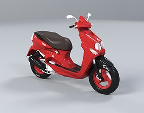 Scooter 3D model motorcycle