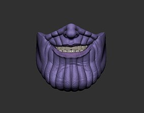 Thanos Face Mask - Fan Art 3D print model