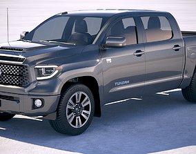 Toyota Tundra TRD 2018 3D model