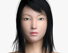 3D model Asian Female II