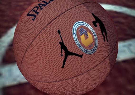 Basketball field and Ball