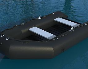 Zodiac Boat 3D model
