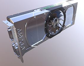 3D model VR / AR ready Nvidia Geforce GTX 690