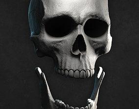 Male Skull for 3D print