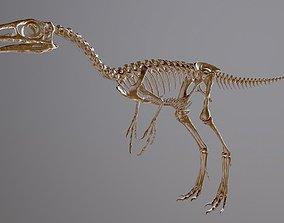 Compsognathus sculpture 3D print model