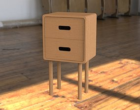 Night stand 3D asset realtime