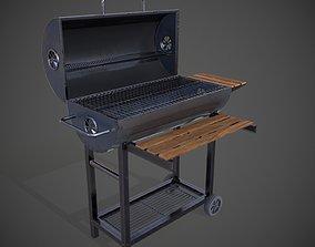 3D asset Garden Grill Barbeque
