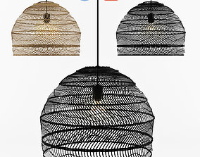 3D Wicker Hanging Lamp - HK living