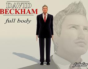 David Beckham Full Body 3D