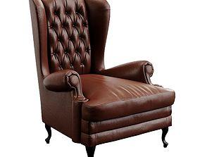 3D model Manchester Classic Armchair