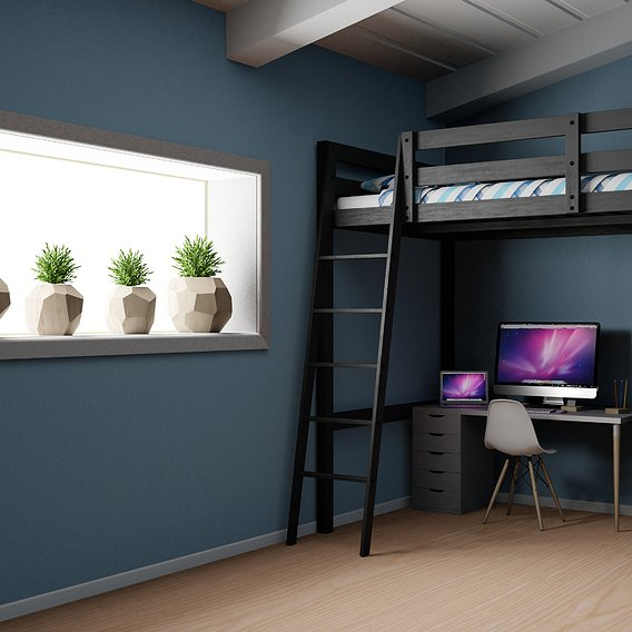 IKEA Bedroom for Teenager