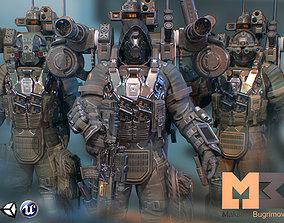 Elite Soldiers Pack 3D model