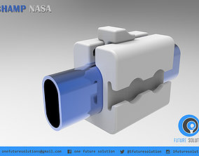CHAMP NASA handrail 3D printable model