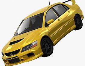 3D Mitsubishi Lancer Evolution 9 RS 2006