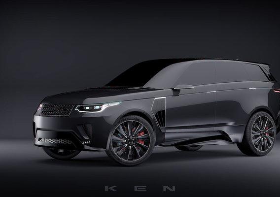 Range Rover Concept by K  E  N™