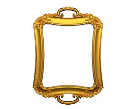 Frame mirror 3D model 12