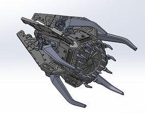 3D print model SpaceSquid Drop Pod