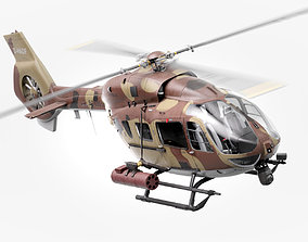 Military Attack Defense Modern Helicopter Airbus 3D
