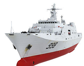 Chinese Navy LPD 998 3D