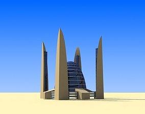 Public Center 3D asset