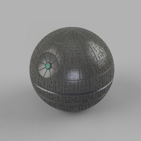 star wars death star 3D print model