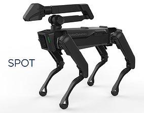 Boston Dynamics Spot Handle Black 3D