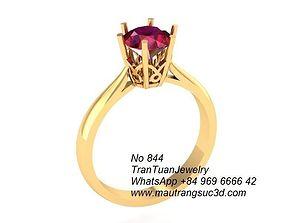 3D printable model 844 Diamond Ring