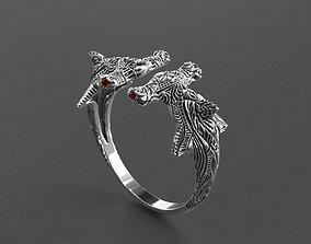 3D print model shark ring