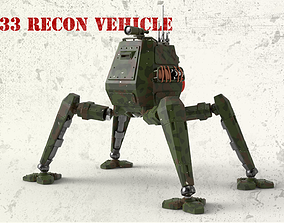 OM33 RECON VEHICLE articulated 3D print model