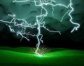 thunderstorm 3D model
