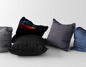 Pillow Set 3D model